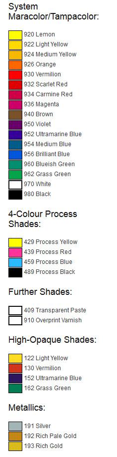 TPU-colors