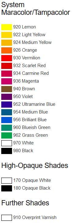 MAP-colors