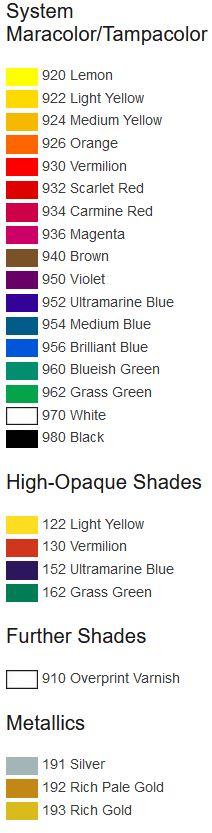 TPT-colors